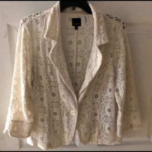 Lace jacket - rare find!